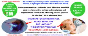 Teeth whitening prices