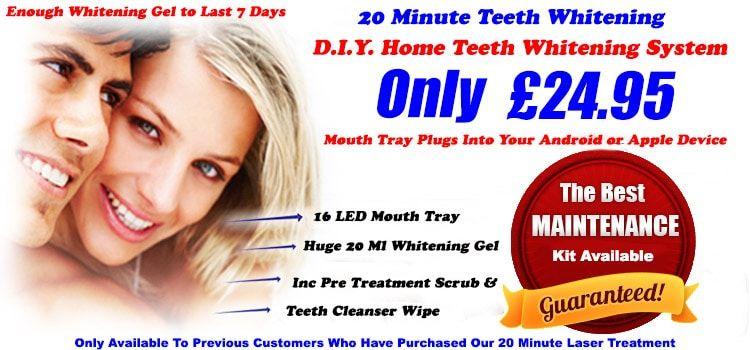 Advanced teeth Whitening Kit