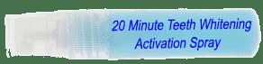 Best teeth whitening activation spray