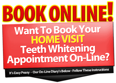 Teeth Whitening Online Booking Diary